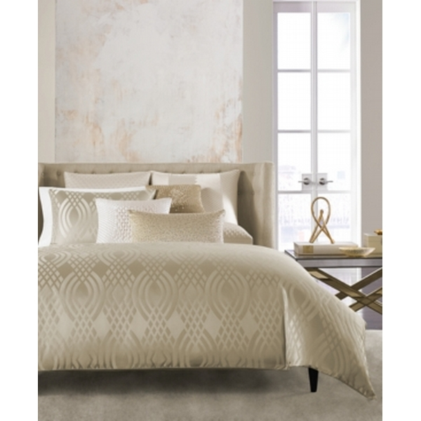 Hotel Collection Dimensions Champagne Full Queen Comforter Created For Macy S Bedding