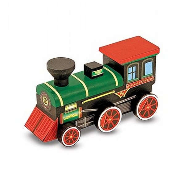 Melissa Doug Decorate Your Own Wooden Train Craft Kit Shop Your